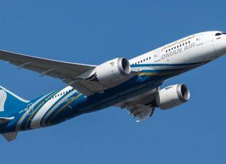 oman air flight