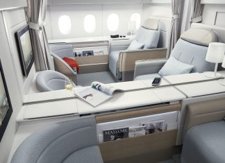 first-class seats in airlines
