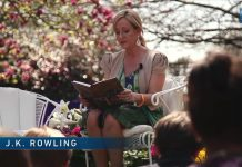 J K Rowling