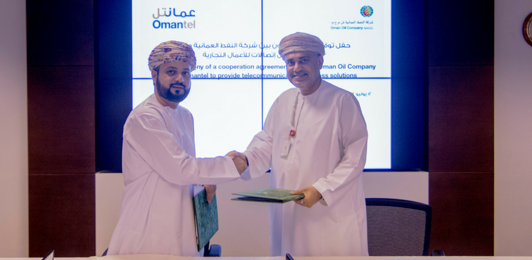 Oman Oil Company and Omantel to provide telecommunication