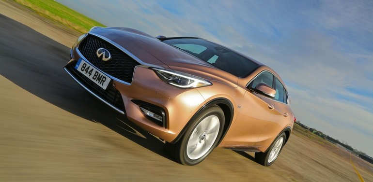 INFINITI Q30 continues to garner success across the Middle East