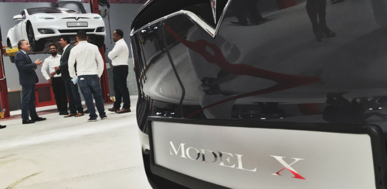 Tesla Opens First Store and Service Centre in Dubai, UAE