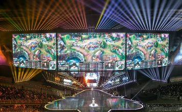 Gaming; EGame; ESport; Gamers; E Sports; E-Sports; Computer Game; Tournamet; League of Legends; Competition; E-Game; Video Game; LoL; Asia; South Korean