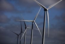 wind turbines; renewable energy