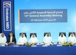 Emirates NBD held its 12th General Assembly Meeting at the Bank's Headquarters