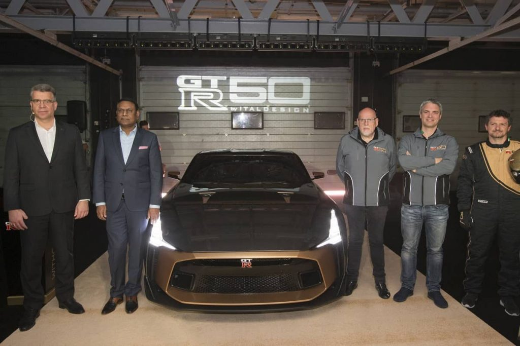 Nissan GT-R50 by Italdesign Makes Middle East Debut