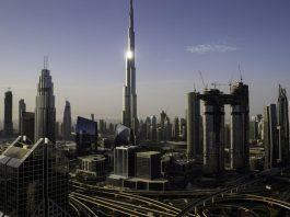 Burj Khalifa tower, UAE