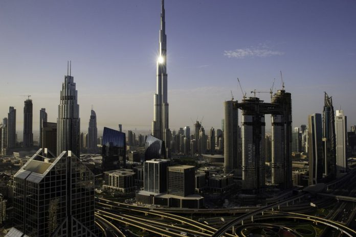 Burj Khalifa tower, UAE