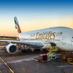 Emirates Airbus A380 - 800 super jumbo