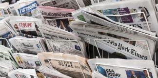 newspaper industry