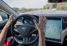 tesla's self-driving cars