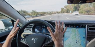 tesla's self-driving cars; automobile;