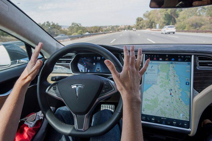 tesla's self-driving cars