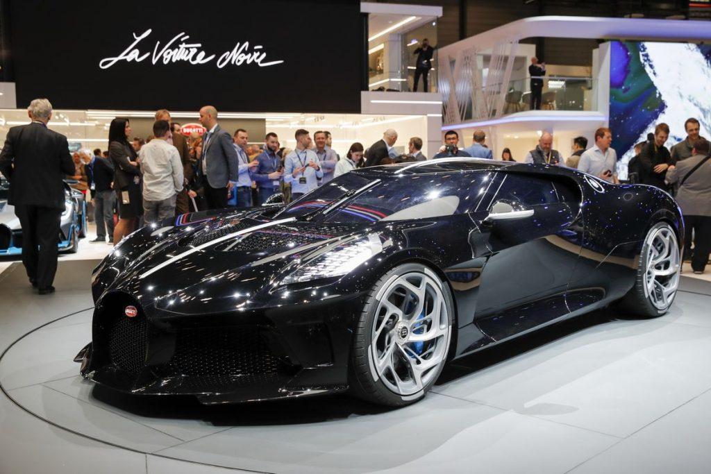 Bugatti La Voiture Noire at Geneva Motor Show