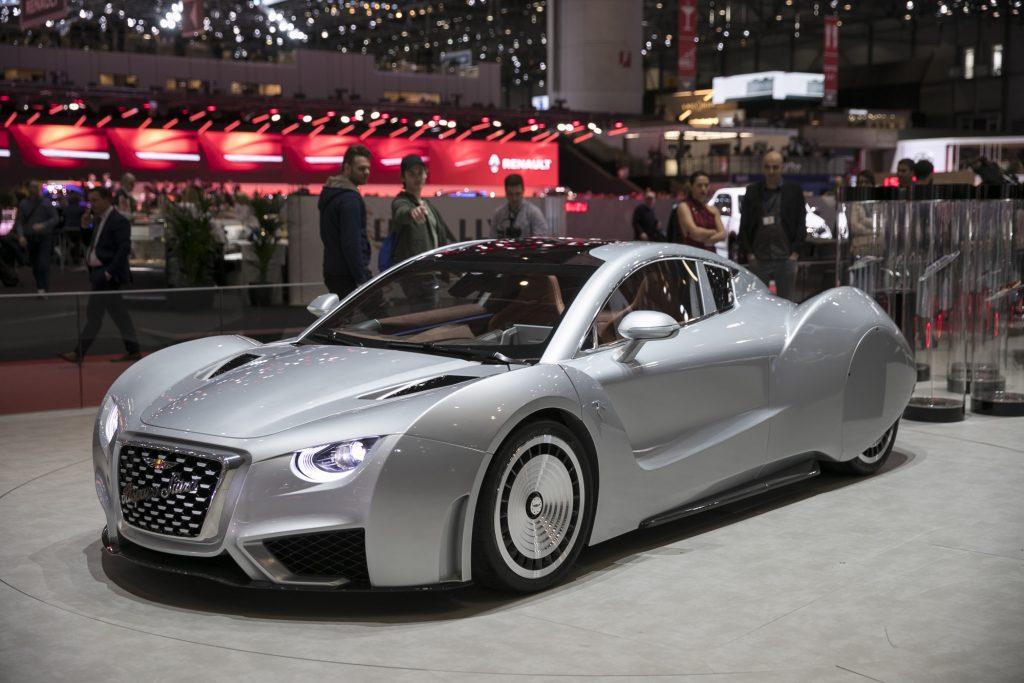 Hispano Suiza Carmen at Geneva Motor Show