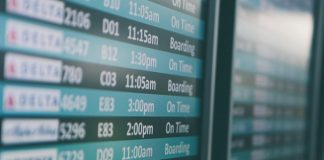 airport flight schedule