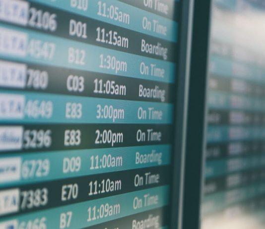 airport flight schedule