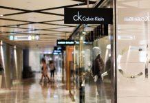 calvin klein signage; fashion