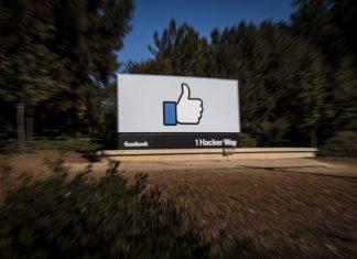 facebook signage; online media