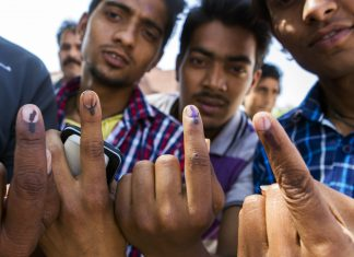 voters at india's elections