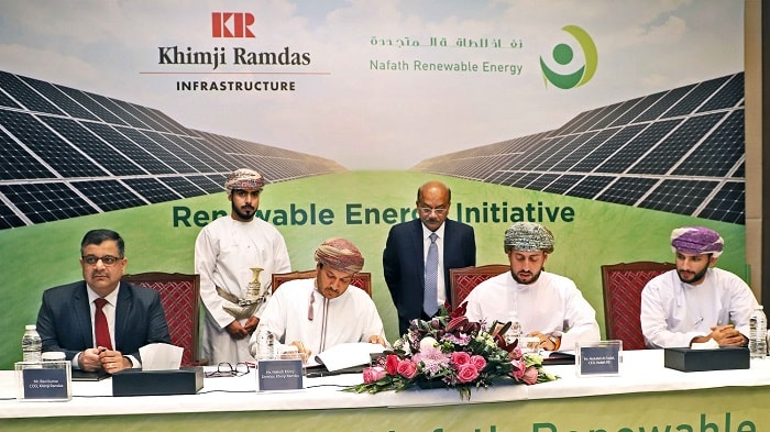 Oman's 1st Large Scale 1MW Solar PV System