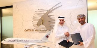 Qatar Airways is Official Airline Partner for Oman Youth Sports Programmes. Signs agreement with Sabco sports