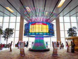 Changi Airport in Singapore is one of the world's best airports