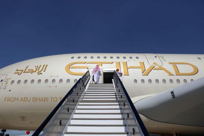 Etihad Airways; airbus