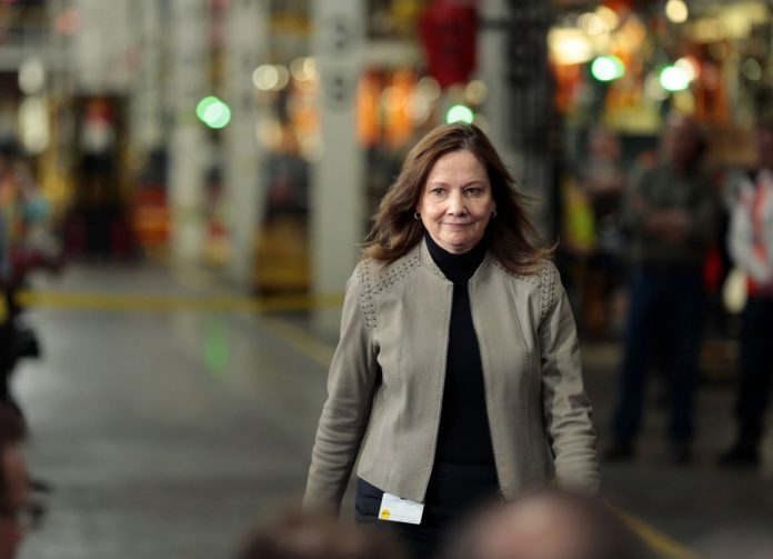 Mary Barra; GM; General Motors; Women CEOs,