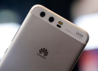 Dual rear facing cameras by Leica sit on the back of P10 smartphone, manufactured by Huawei