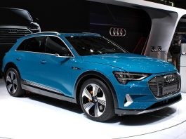 Audi e-tron at Paris Motor Show 2018