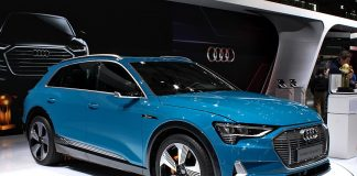Audi e-tron at Paris Motor Show 2018