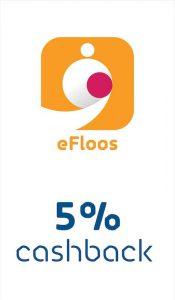 Enjoy 5% Cashback when using eFloos at Carrefour