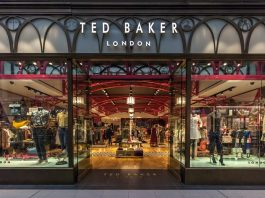 ted baker; UK retailer
