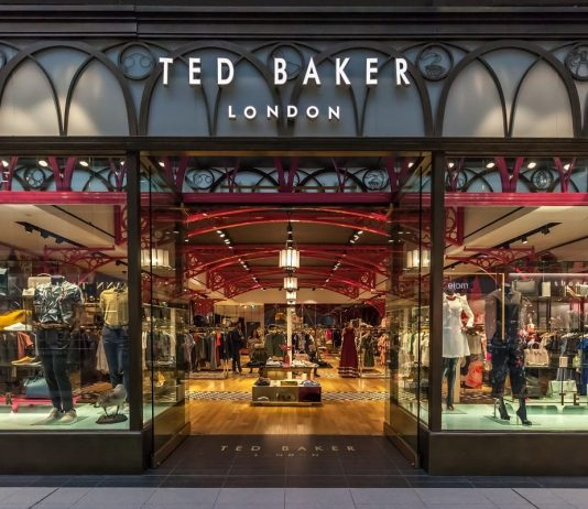 ted baker; UK retailer