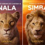 disney's the lion king poster featuring Beyoncé