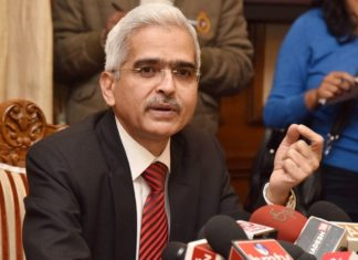 Reserve Bank of India Governor Shaktikanta Das
