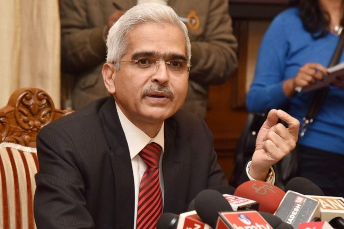 Reserve Bank of India Governor Shaktikanta Das