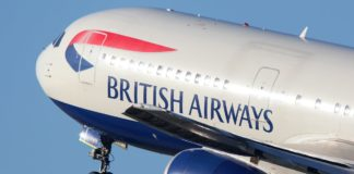 British airways plane; BA & Lufthansa flights to cairo suspended