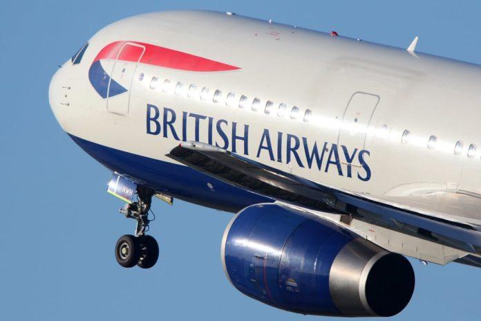 British airways plane; BA & Lufthansa flights to cairo suspended
