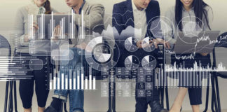 stock image of economists