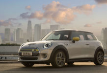 electric mini cooper SE by BMW