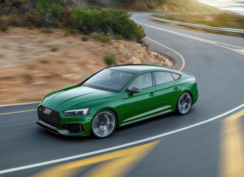 Superior driving performance and emotional design: The Audi RS 5 Sportback