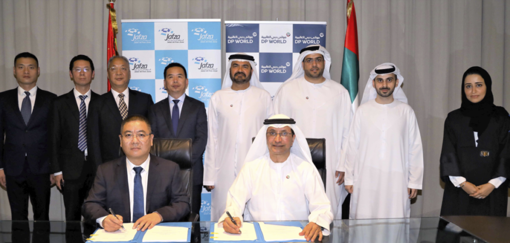 DP World, China's CCC  ink deal to create 'smart marketplace' in JAFZA