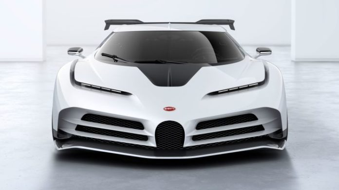 bugatti Centodieci; supercar