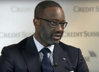 Credit Suisse CEO Tidjane Thiam