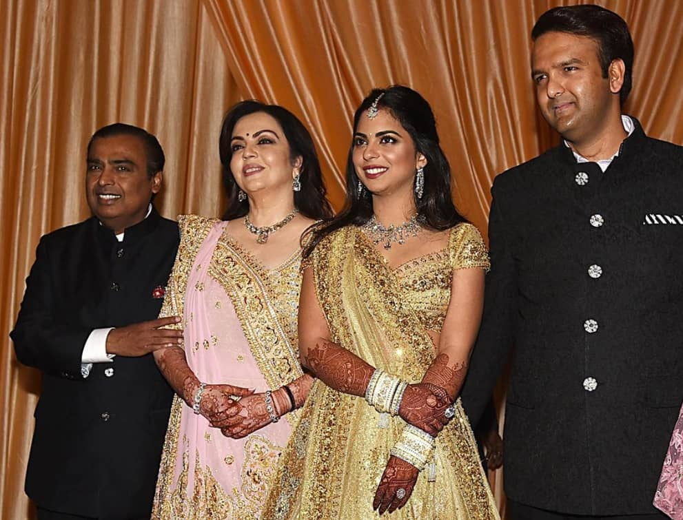 Mukesh Ambani Grooms the Heirs to His $50 Billion Fortune