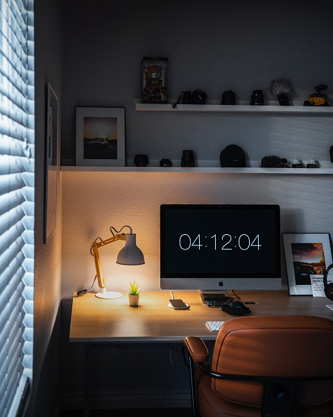 When Setting Up a Home Office