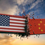 US-China trade war representation