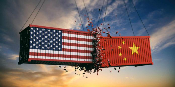 US-China trade war representation